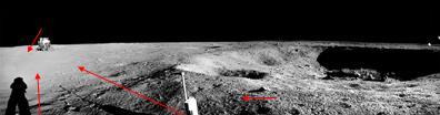 Nasa: Foto da Lua