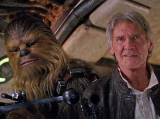 Chewbaca e Han Solo