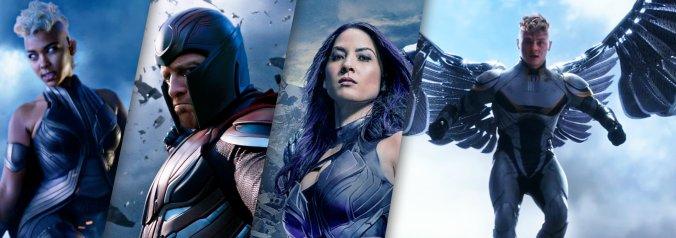 Cavaleiros do Apocalipse - Tempestade, Magneto, Psylock e Anjo