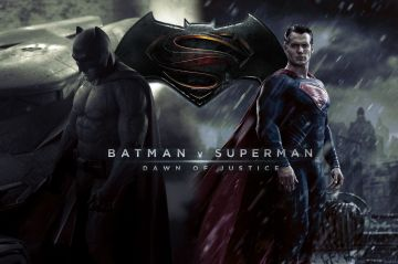 banner teaser do filme batman contra superman