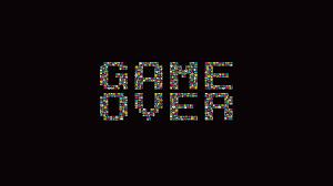 imagem de game - Game Over