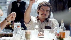 Wágner Moura como Pablo Escobar em Narcos