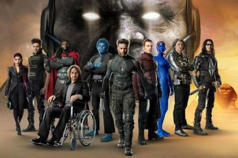x-men: Apocalipse: Poster com personagens do filme