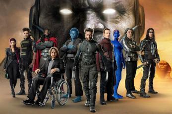 x-men: Apocalipse: Poster com personagens do filme