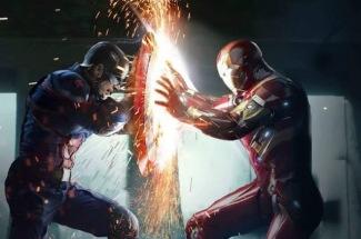 Cena do filmes Capitão América: Guerra Civil
