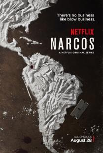 Estreia Narcos - Netflix