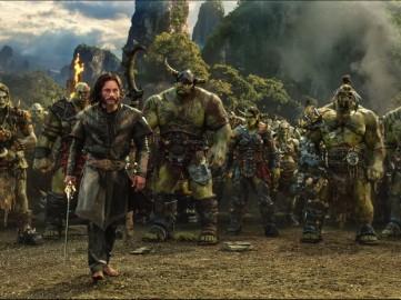 Imagem do filme Warcraft: O primeiro encontro de dois mundos