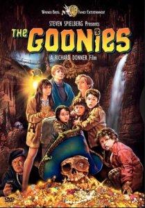 Poster, Os Goonies de Steve Spielberg.