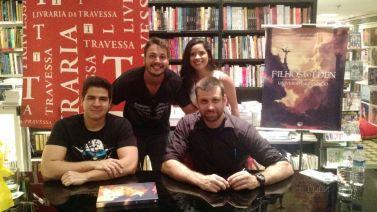 Vitinhu Costa, Amandinha, Eduardo Spohr e Andrés Ramos