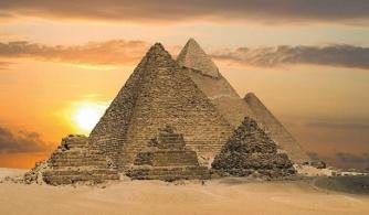 As pirâmides no Egito Antigo
