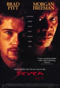 Poster do Filme de David Fincher: Seven