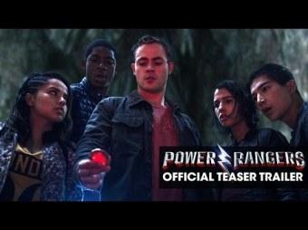 Novos rangers: Tini, Billy, Jason, Kimberly e Zack