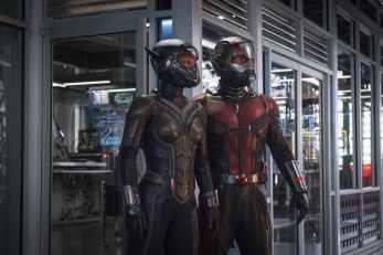 Cena de Homem-formiga e a Vespa